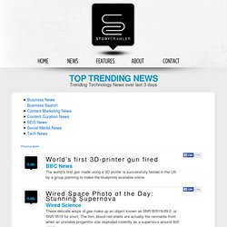 Trending Technology News over last 3 days