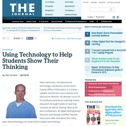 Using Technology to Help Students Show Their Thinking