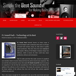 FL Sound Pack - Technology at Its Best