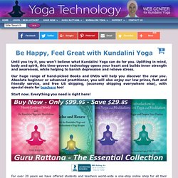 Yoga Technology - Kundalini Yoga Online Superstore