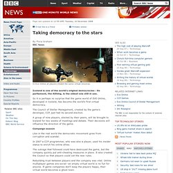 Technology | Taking democracy to the stars