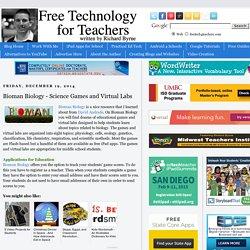 Bioman Biology - Science Games and Virtual Labs