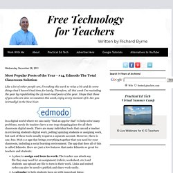 Most Popular Posts of the Year - #14, Edmodo The Total Classroom Solution