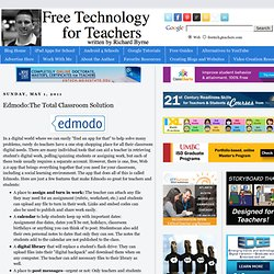 Edmodo:The Total Classroom Solution