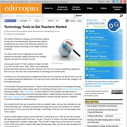 Technology Tools to Get Teachers Started