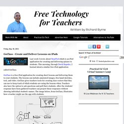 GoClass - Create and Deliver Lessons on iPads