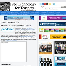 A Pearltree of Free Technology for Teachers