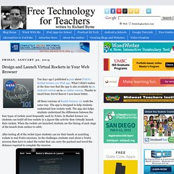 Design and Launch Virtual Rockets in Your Web Browser