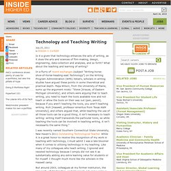 Technology and Teaching Writing
