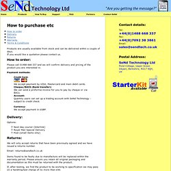 "SeNd Technology Ltd - ""TranSceNding the Boundries"""