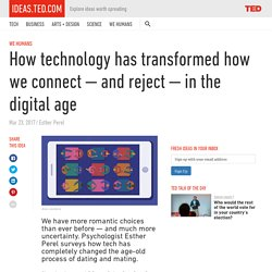 How technology has transformed how we connect-and reject-in the digital age