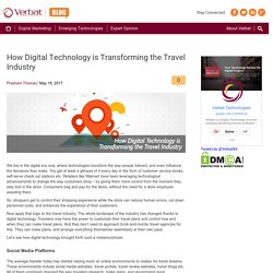 How Digital Technology is Transforming the Travel Industry