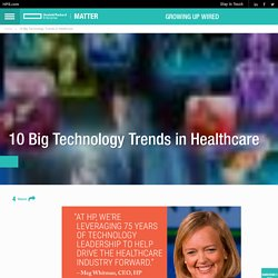 10 Big Technology Trends in Healthcare
