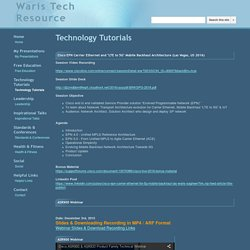 Technology Tutorials - Waris Tech Resource
