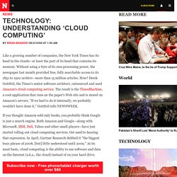 Technology: Understanding 'Cloud Computing'
