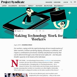 This is how technology and workers can get along