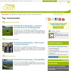 Technomades | Presse-Citron