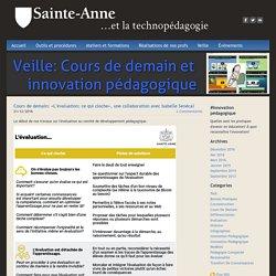 Sainte-Anne et la technopédagogie - Cours de demain et innovation pédagogique