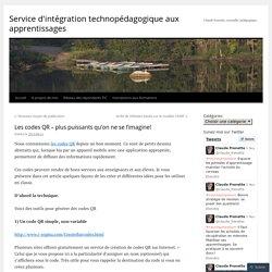 Service d'intégration technopédagogique aux apprentissages