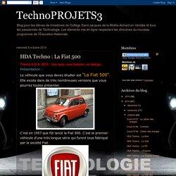 TechnoPROJETS3: HDA Techno : La Fiat 500