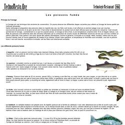 Technoresto.org : Les poissons fumés