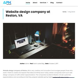 Inspiring web design company in the US