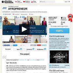TechOfAfrica presents AFROPRENEUR