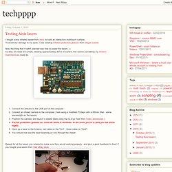 techpppp: Testing Aixiz lasers