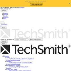 Grabación de pantalla y edición de vídeo