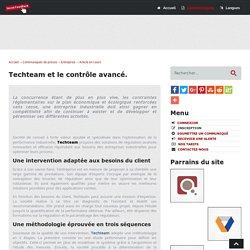 Techteam et le contrôle avancé - Social-FeedBack.Net