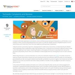 Techvedic Complaints and Reviews