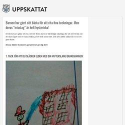 """Barnen har gjort sitt bästa för att rita fina teckningar. Men deras """"misstag"""" är helt hysteriska! – Uppskattat.se"""