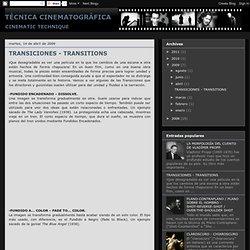 TECNICA Cinematografica 2