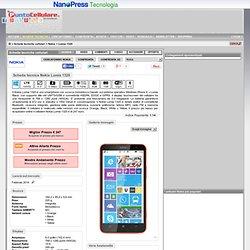 Nokia Lumia 1320 - Scheda tecnica telefono cellulare