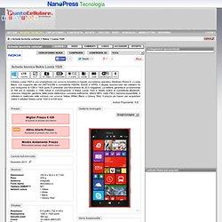 Nokia Lumia 1520 - Scheda tecnica telefono cellulare