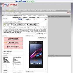 Sony Xperia Z Ultra - Scheda tecnica telefono cellulare