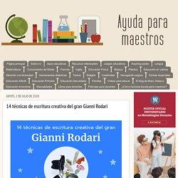 14 técnicas de escritura creativa del gran Gianni Rodari