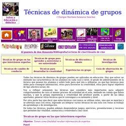 Técnicas de grupo en la enseñanza