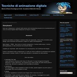 Tecniche di animazione digitale: Storyboard
