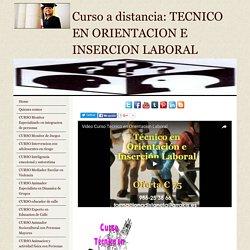 Curso Tecnico Orientacion e Insercion Laboral