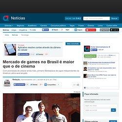 Mercado de games no Brasil é maior que o de cinema