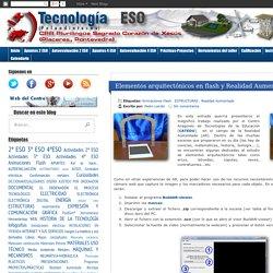 Tecnología ESO. Sagrado Corazón de Placeres (Pontevedra): Elementos arquitectónicos en flash y Realidad Aumentada
