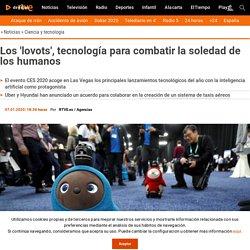"""Los """"lovots"""", tecnología para combatir la soledad de los humanos"""