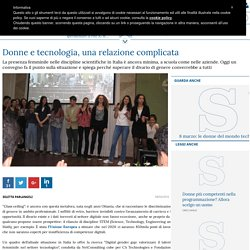 Donne e tecnologia, una relazione complicata
