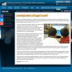 Istituto di Scienze e Tecnologie della Cognizione