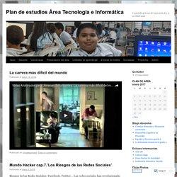 Plan de estudios Área Tecnología e Informática