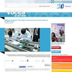 Políticas de Ciencia, Tecnología e Innovación para el desarrollo con inclusión social
