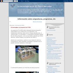 El invernadero: un proyecto de 3º ESO