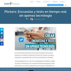 Plickers: Encuestas y tests en tiempo real sin apenas tecnología