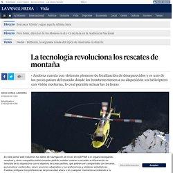 La tecnología revoluciona los rescates de montaña
